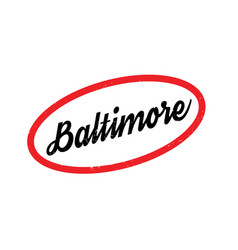 Baltimore rubber stamp vector