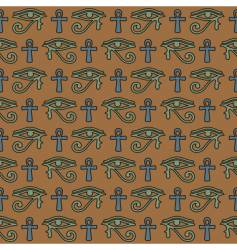 hieroglyphic background vector image