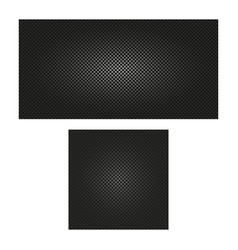 Isolated abstract black color checkered seamless vector