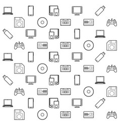 Technology pattern vector