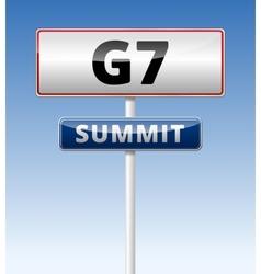 G7 summit vector