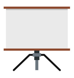 Presentation screen icon isolated vector