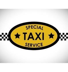 Taxi service design vector image vector image