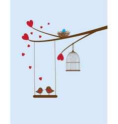 Bird swing vector
