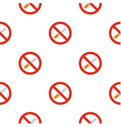 No smoking pattern seamless vector