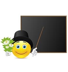 Romantic teacher vector