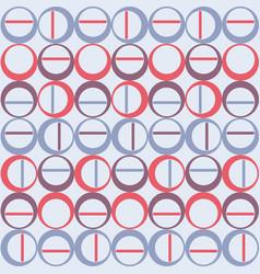 Scandinavian seamless texture of round vector