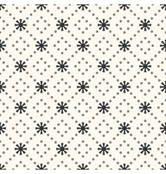 Seamless pattern of sun shape and dot vector
