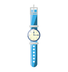 wristwatch fashion accesory vector image