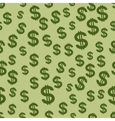 Us dollar pattern vector