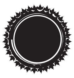 Design element Decorative grungy circle Like the vector image