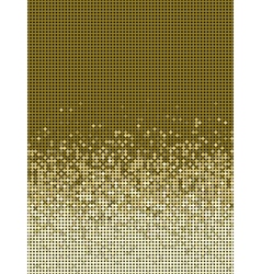 bubble gradient pattern in brown and beige vector image