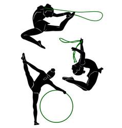 Gymnastic 2 vector