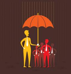 insurance concept design vector image