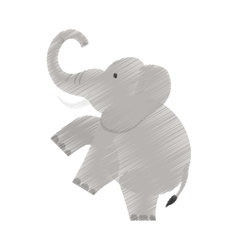 Isolated elephant cartoon vector
