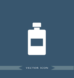 lotion icon simple barbershop vector image vector image