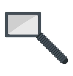 Magnifier search loupe icon vector image vector image