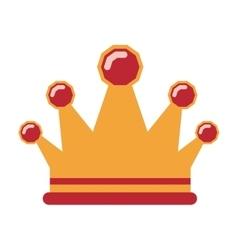 Queen crown icon vector