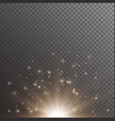 Bokeh background with shimmering lights vector