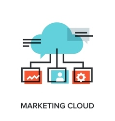 Marketing cloud vector