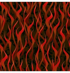 hell fire seamless background vector image
