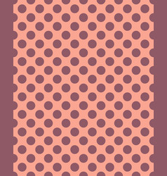 Dots seamless pattern vector