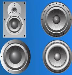 4 loudspeakers 2 vector