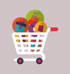 Shopping icon design vector