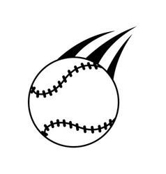 baseball ball icon image vector image vector image