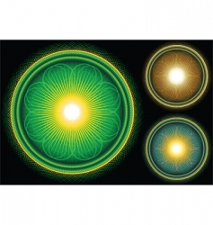 cosmic creation vector image vector image