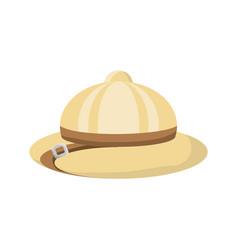 Safari hat vector