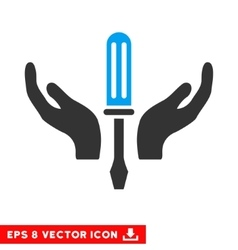 Tuning screwdriver maintenance eps icon vector