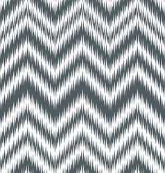 Grey alloy chevron ikat vector