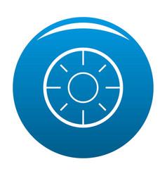 backsight icon blue vector image