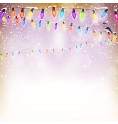 Blue Christmas background EPS 10 vector image