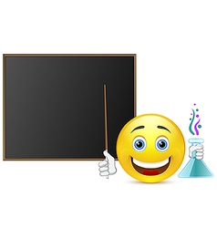 Smile lesson chemistry vector