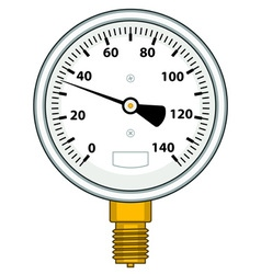 Manometer vector