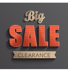 Poster big sale clearance vector