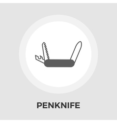 Knife flat icon vector