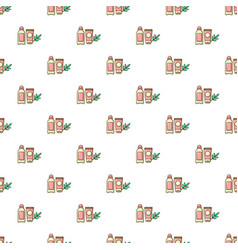 Massage cream pattern seamless vector