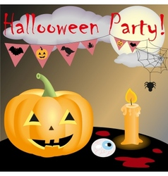 Halloween party new vector