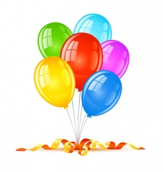 Birthday holiday celebration vector