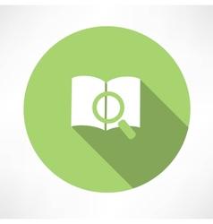 Sear The Book icon vector image