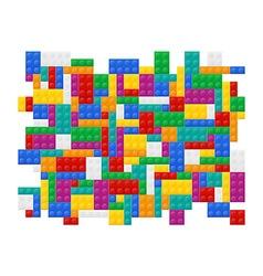 plastic constructor 04 vector image