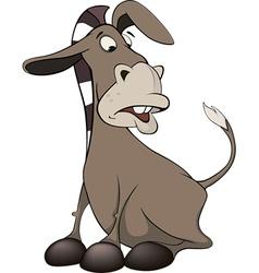 A little burro Cartoon vector image
