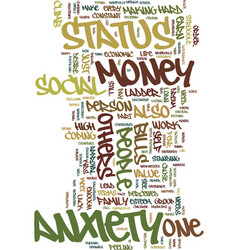 Money and mind text background word cloud concept vector