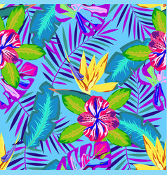 tropical abstract pattern vector image