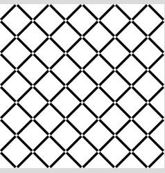 white diamond square on black background seamless vector image vector image