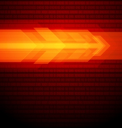 abstract arrows background vector image