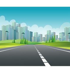 City Scene vector image vector image